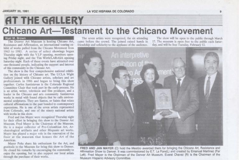 Chicano Art - Testament to the Chicano Movement