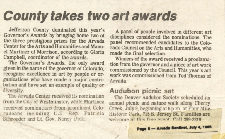 County takes two art awards