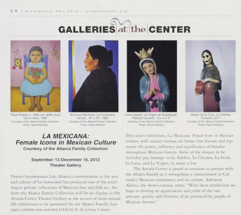 La Mexicana: Female Icons in Mexican Culture
