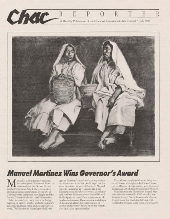 Manuel Martinez Wins Governor's Award