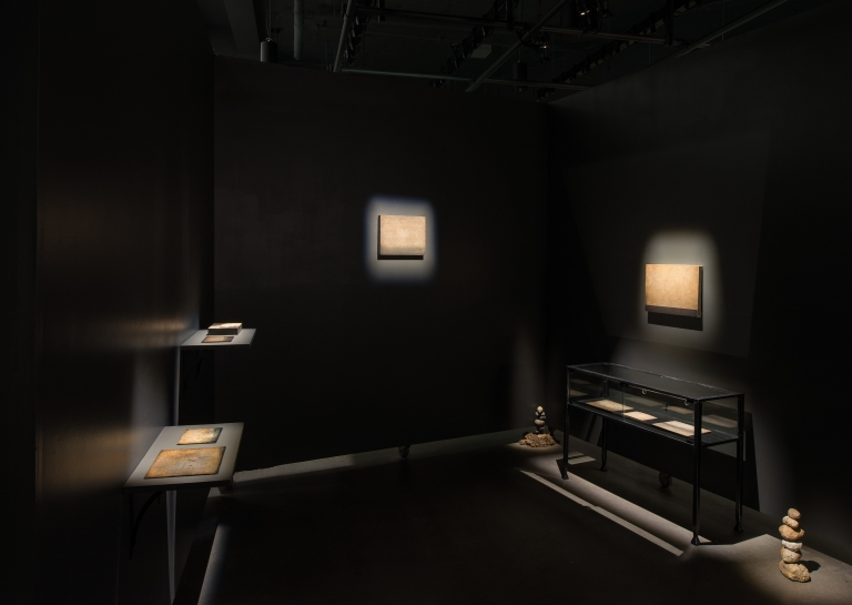 "Selected works from the ""departing landscapes"" series (Herbert Pföstl); Balance (Amy Felder)"