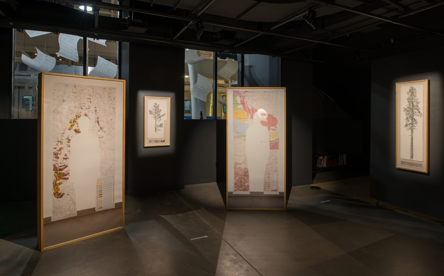 """Selected works from """"Mapping Bodily Connections"""" series"""