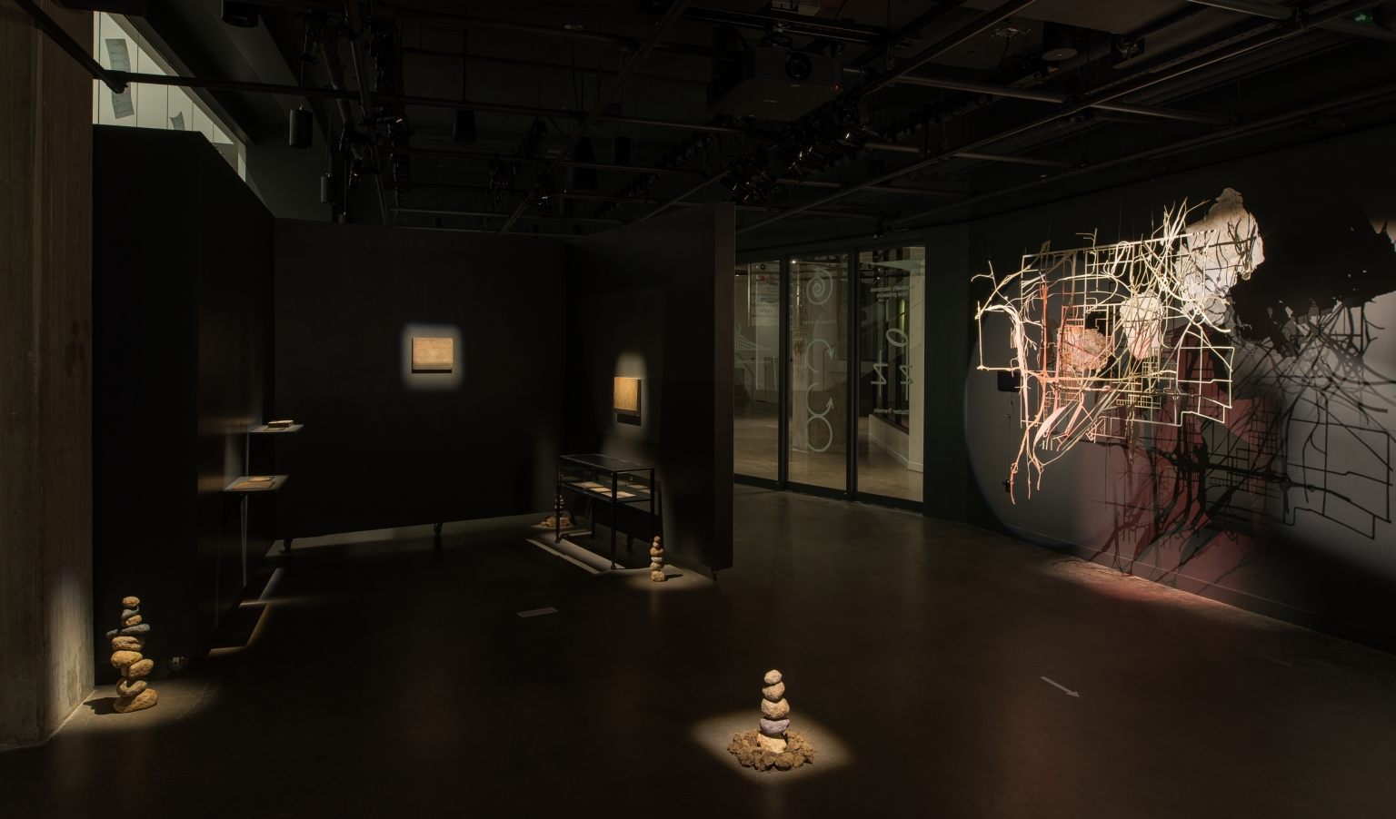 "BIOME vs BORDERS (Alejandra Abad); Selected works from the ""departing landscapes"" series (Herbert Pföstl); Balance (Amy Felder)"
